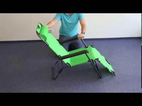 Aufbau Smartfox Liegestuhl