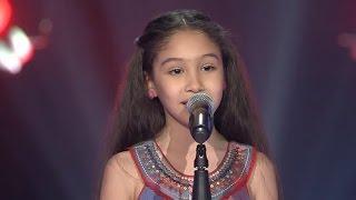 جورية حمدي - الحب لعبة - مرحلة الصوت وبس - MBCTheVoiceKids