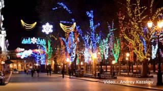 Невероятная красота зимой города Одессы и Чёрного моря
