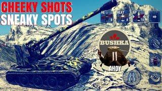 SNEAKY SPOTS AND CHEATY SHOTS World of tanks Blitz