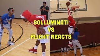 SoLLUMINATI vs FLIGHT 1v1 (Raw Footage)