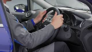 How to adjust your driving seat and steering wheel