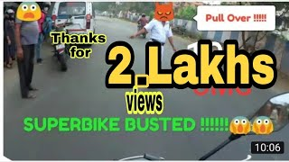 POLICE Vs SUPERBIKES IN INDIA.......