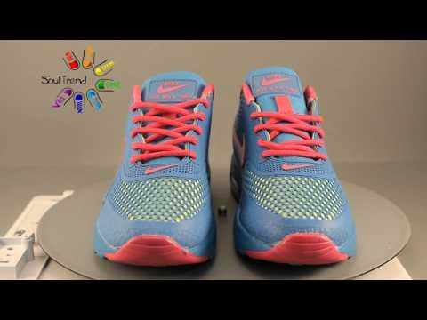 Кроссовки Nike Air Max Thea GL Blue Pink Light Green краткий обзор от магазина Soul Trend
