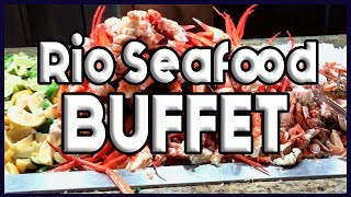 Rio Las Vegas SEAFOOD BUFFET Full Tour