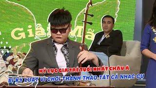 Kỷ lục gia trẻ nhất Châu Á bị kỷ luật vì chơi 14 nhạc cụ khiến Quyền Linh sửng sốt 😱