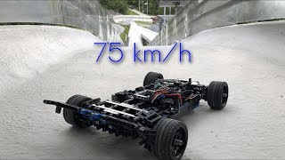 LEGO RC Car VS Olympic Bobsleigh Track - RS4.0 The Apex