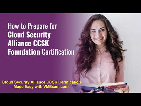 Showcase Your Knowledge on CSA Certificate of Cloud Security ...