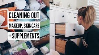Organizing + Purging Makeup, Skincare + Supplements | MEL WEEKLY #40