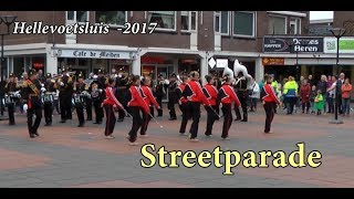 Streetparade Taptoe in De Struytse Hoeck Hellevoetsluis (NL)