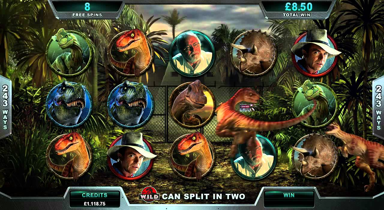 Jurassic Park från Microgaming