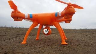 Квадрокоптер Syma X8C с камерой (НедоPhantom)
