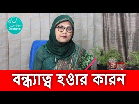 এন্ডোমেট্রিওসিসের কারনে বন্ধ্যাত্ব/ Infertility due to Endometriosis 2019 #Dr. Rashida Begum#