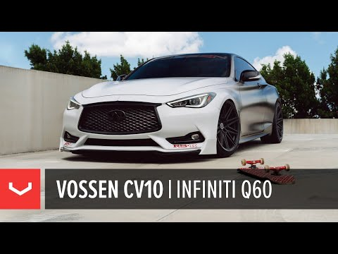 Infiniti Q60 | Vossen CV10 Concave Wheels
