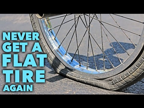 Tips to NEVER getting a Flat Tire again!
