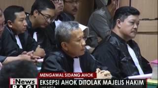 Mengawal Sidang Ahok  Hakim  Dakwaan Jaksa Cermat Dan Jelas  INews Pagi 28/12
