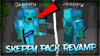 Skeppy PvP Texture Pack Revamp (Resource Pack) 32x Edit FPS BOOST NO LAG