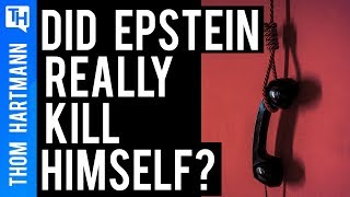 Jeffery Epstein's Mysterious Suicide Raises More Questions