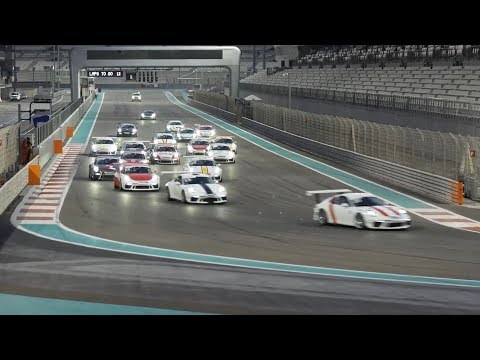 GT3 Cup Challenge - Middle East: Season 9, Round 3, Race 2 at Dubai Autodrome