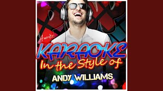 To You Sweetheart, Aloha (In the Style of Andy Williams) (Karaoke Version)
