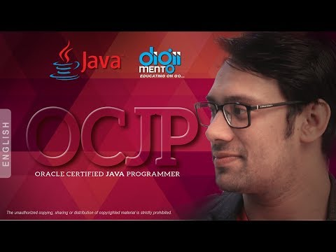 Oracle Certified Java Programmer (OCJP) - SCJP - Course Content ...