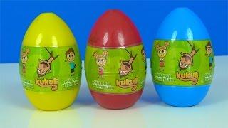 Kukuli Sürpriz Yumurta - 3 Kukuli Sürpriz Yumurtası - Tinky Minky peluşlarla Kukili süpriz yumurta