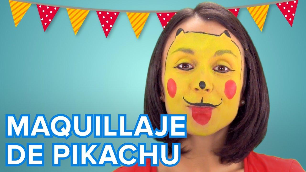 Maquillaje de Pikachu para niños | Disfraz de Pokémon