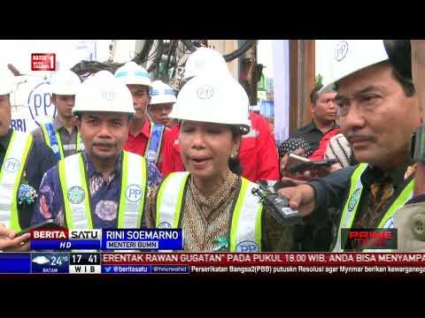 Menteri BUMN Groundbreaking Gedung Baru BRI