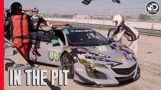 Testing With Katherine Legge at Sebring | In the Pit