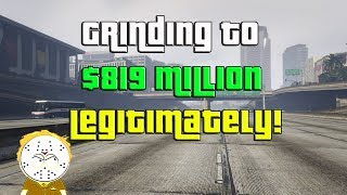 GTA Online Grinding To $819 Million Legitimately And Helping Subs