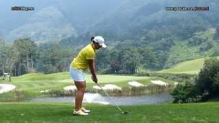 [Slow HD] JANG HaNa 2013 IRON Golf Swing (1)_KLPGA Tour