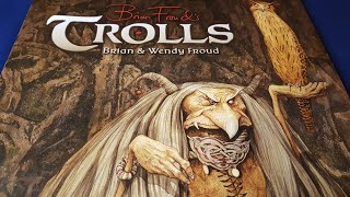 Brian Frouds Trolls - Beautiful Book Review