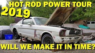 Forgotten 1965 Mustang First start in  44 years, Part 6 HOT ROD POWER TOUR PREP