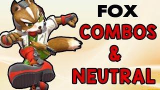 Fox Combos & Neutral ft. Larry Lurr! (Smash Wii U/3DS)