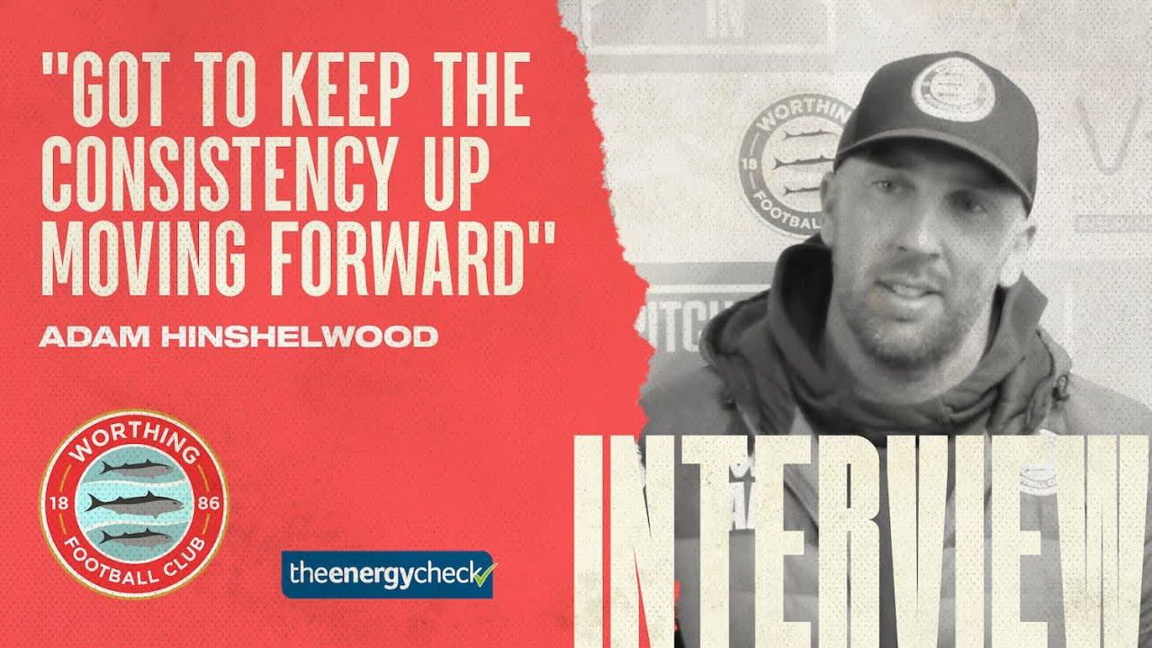 "Thumbnail for Hinshelwood: ""Got to keep consistency up moving forward"""