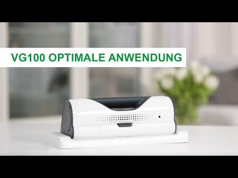 Anleitung   VG100 Fensterreiniger: Optimale Anwendung