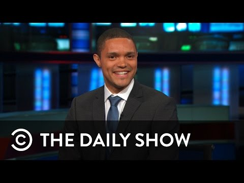 NEW: Trevor Noah On The Daily Show | The Daily Show
