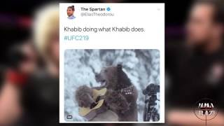 UFC Fighters react to Khabib Nurmagomedov win over Edson Barboza UFC 219