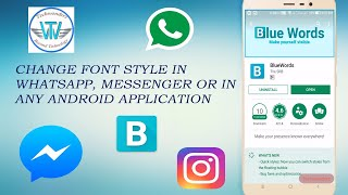 How to change font Style in whatsapp Messenger - ฟรีวิดีโอ