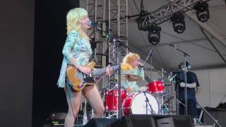 Deap Vally - Royal Jelly @ Bonnaroo Manchester, TN 6-10-2017