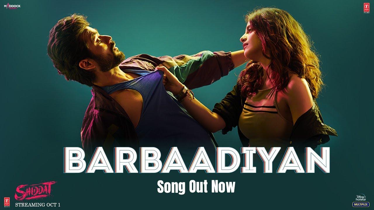 Barbaadiyan Lyrics - Sachet Tandon