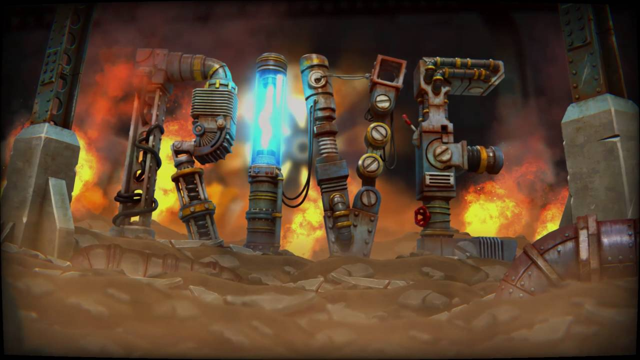 Der neue Twin-Stick-Shooter RIVE erscheint am 13. September für PS4