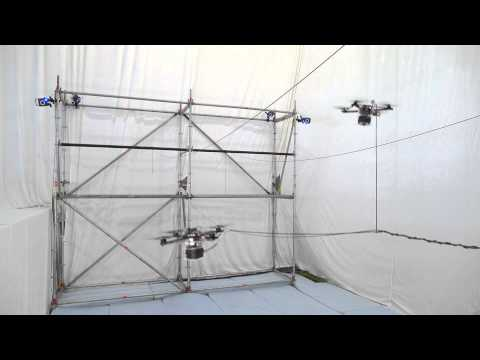 Drones Autonomously Build A Bridge, So The Robot Army Never Has To Stop