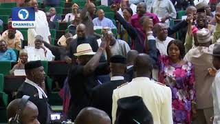 Rowdy Session As 37 House Of Reps Members Dump APC