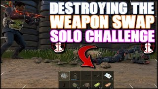 SMASHING THE WEAPON SWAP CHALLENGE! HIGH KILL DONO CHALLENGE SOLO COD BLACKOUT VICTORY!