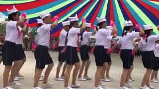 Trại hè 2019 - Chi đội Yên Cảnh thi nghi thức đội