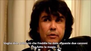 Freddie Mercury e Dave Clark rare interview 1986 SOTTOTITOLI IN ITALIANO1