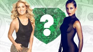WHO'S RICHER? - Carrie Underwood or Alicia Keys? - Net Worth Revealed!