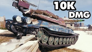 Object 705A - 10254 Damage - World of Tanks Gameplay