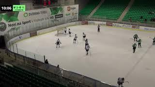 U-16 DP 14.3.2018 HK Olimpija – HK Slavija Junior 1:0, posnetek celotne tekme